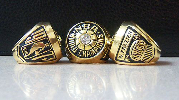 Knicks Championship Ring Most Appearances in the NBA Finals