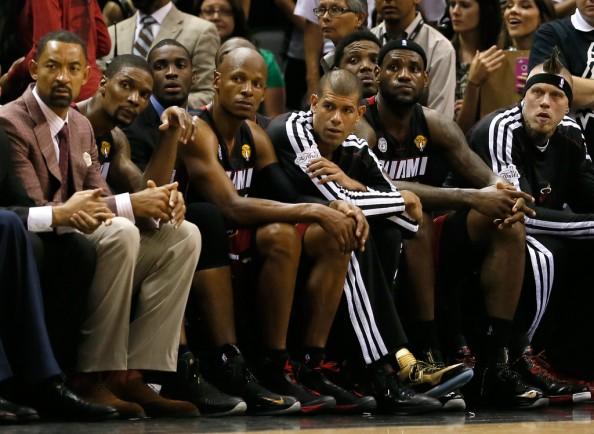 LeBron James & Bench