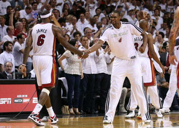LeBron James, Chris Bosh 2013