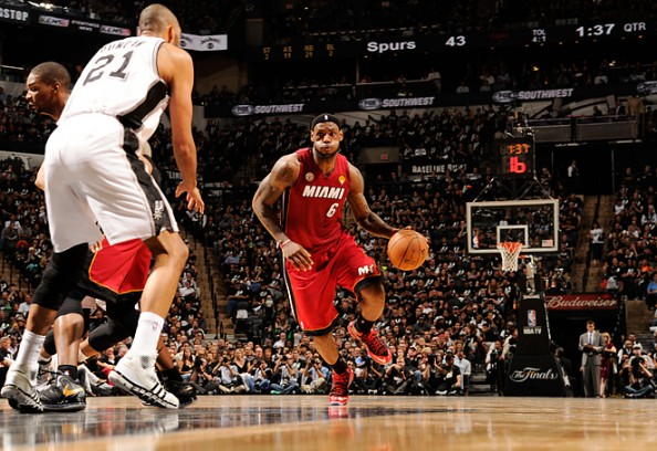 LeBron James game 3 2013 NBA finals