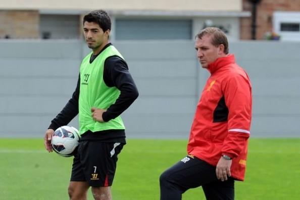 Luis Suarez, Brendan Rodgers