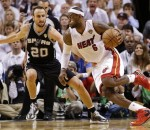 Manu Ginobili, LeBron James