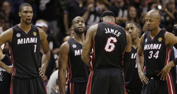 Miami Heat in trouble