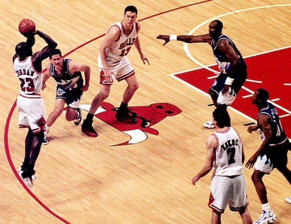 Michael Jordan 1998 Finals e1371046158353 Biggest Wins in the History of the NBA Finals