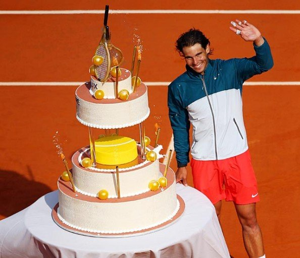 Nadal Cake French Open