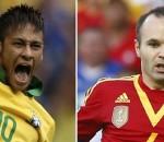 Neymar, Iniesta