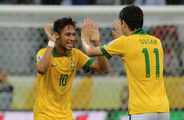 Neymar, Oscar