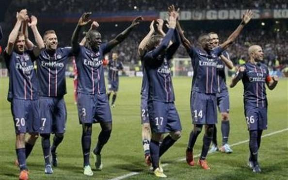 PSG 2013 Champions