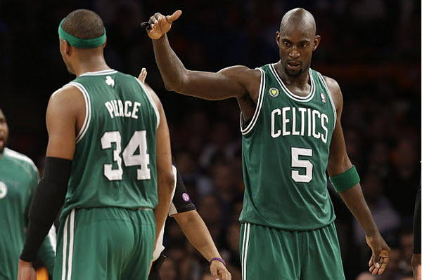 Paul Pierce, Kevin Garnett Celtics