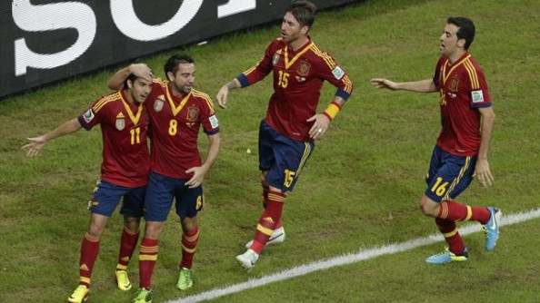 Spain Confederations Cup