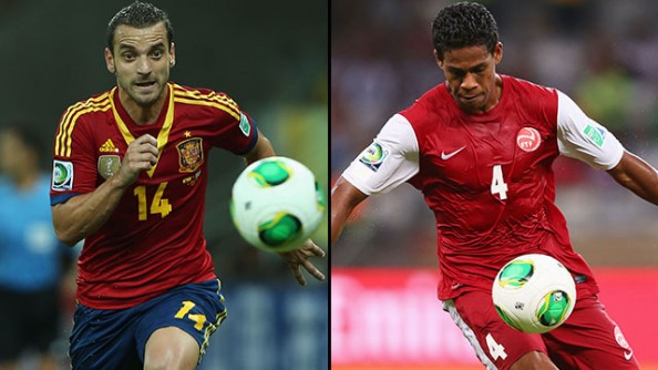 Spain vs Tahiti