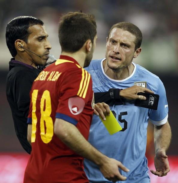 Spain vs uruguay