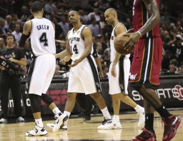 Spurs Beat Heat