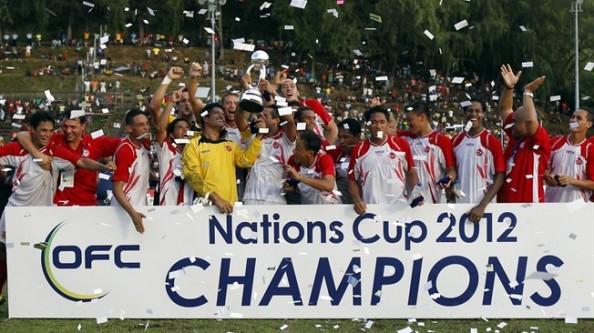 Tahiti 2012 champions