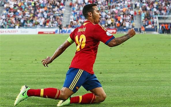 Thiago Alcantara Spain