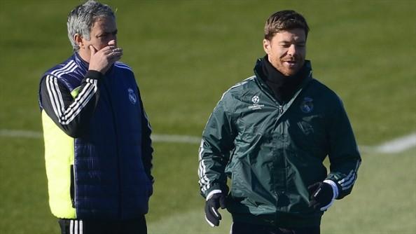 Xabi Alonso, Jose Mourinho