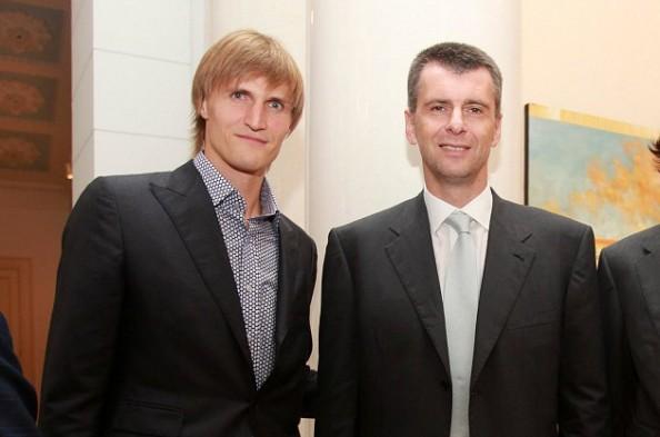 Andrei Kirilenko, Mikhail Prokhorov