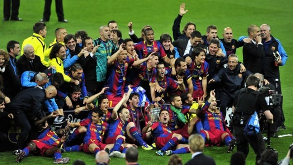 Barcelona European Champions e1374050635991 Best Champions League Teams In the Last Decade