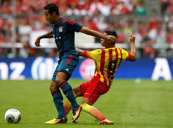 Bayern v Barca