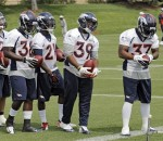 Jacob Hester, Montee Ball, Ronnie Hillman, C.J. Anderson, Jeremiah Johnson