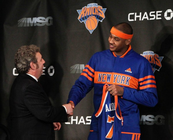 Carmelo Anthony, James Dolan