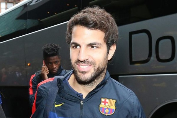Cesc Fabregas Smiling