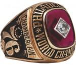 Chamberlain Championship Ring