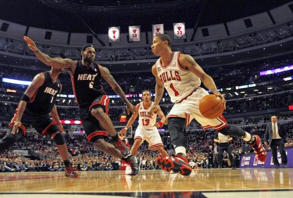 Derrick Rose vs Miami Heat
