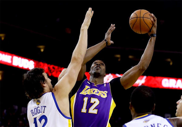 Dwight Howard Andrew Bogut NBA Rumors   Golden State Warriors & Los Angeles Lakers in Trade for Dwight Howard & Andrew Bogut