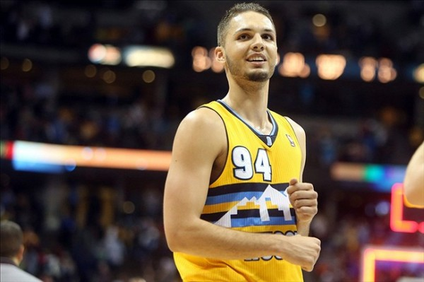 Evan Fournier e1374839978572 NBA Rumors   Denver Nuggets Will Start Evan Fournier at Shooting Guard