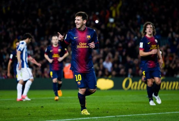 Happy Messi