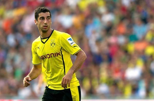Henrikh Mkhitaryan Dortmund