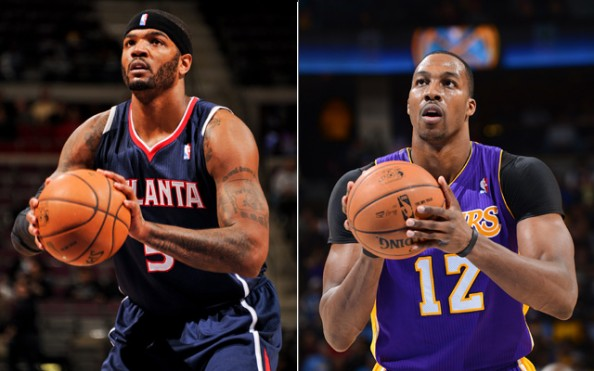 Josh Smith, Dwight Howard