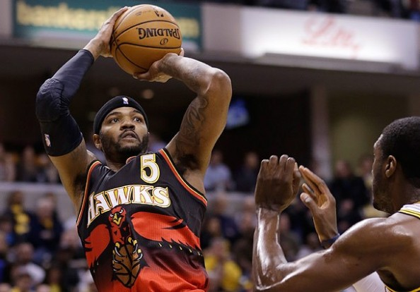 Josh Smith e1372681994844 NBA Rumors   Detroit Pistons Trying to Sign Josh Smith