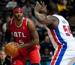 Josh Smith vs Pistons