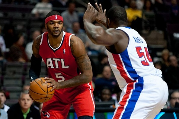 Josh Smith vs Pistons