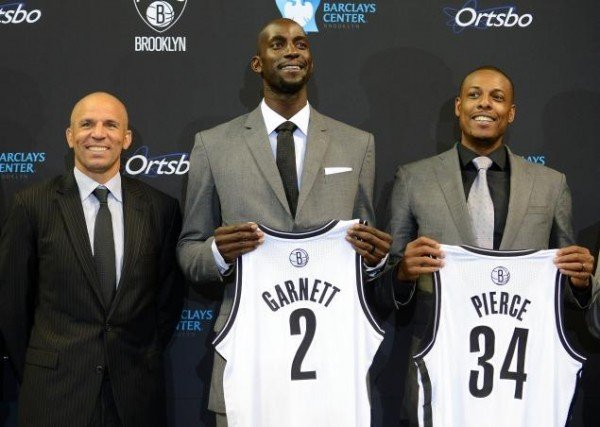 Kevin Garnett, Paul Pierce, Jason Kidd