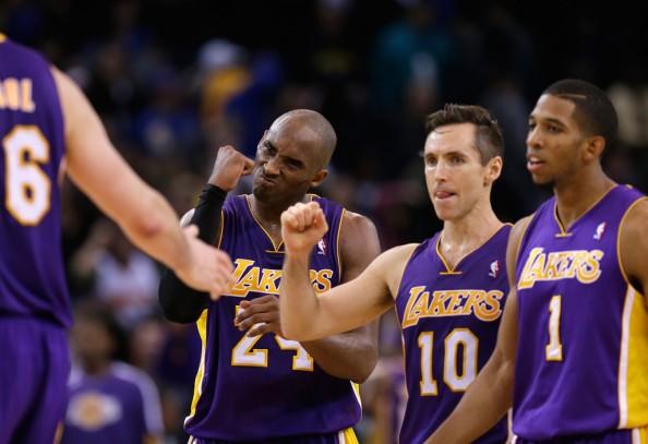Kobe Bryant, Steve Nash, Darius Morris