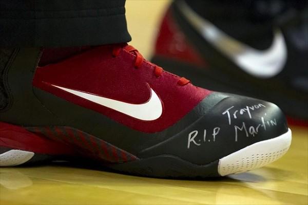LeBron James Trayvon Martin Shoes