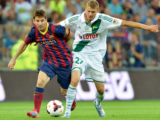 Lionel Messi vs Gdansk