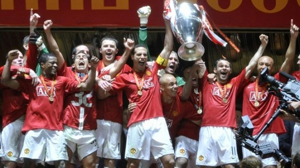Manchester United European Champions e1374050067544 Best Champions League Teams In the Last Decade