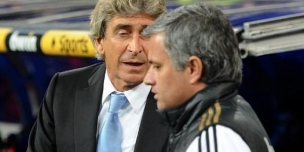 Manuel Pellegrini, Jose Mourinho
