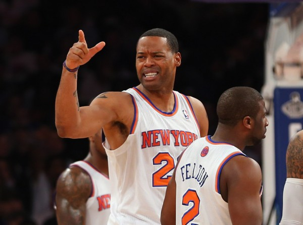 Marcus Camby Knicks e1374235808178 NBA Rumors   Chicago Bulls, Miami Heat, Houston Rockets & Los Angeles Clippers Trying to Sign Marcus Camby