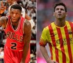 Nate Robinson, Lionel Messi