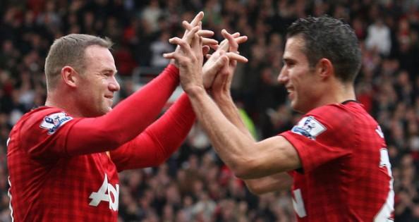 Rooney, Van Persie