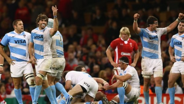 Argentina Beat Wales