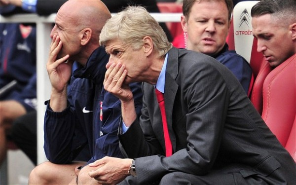 Arsene Wenger Doesn't Know What to Do