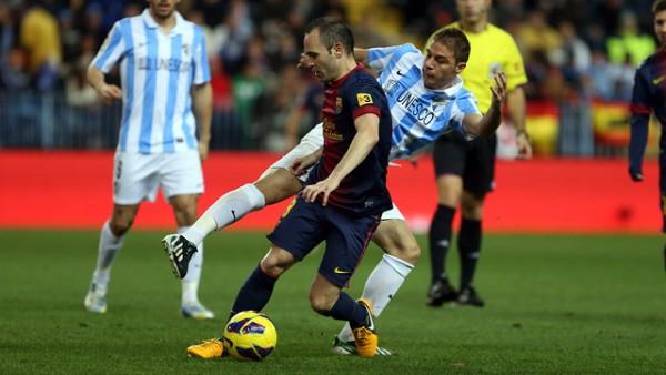 Barcelona vs Malaga 2013