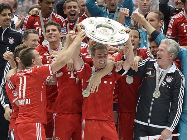Bayern Bundesliga Champions