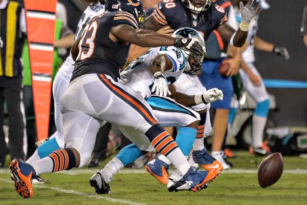 Carolina Panthers Fumble